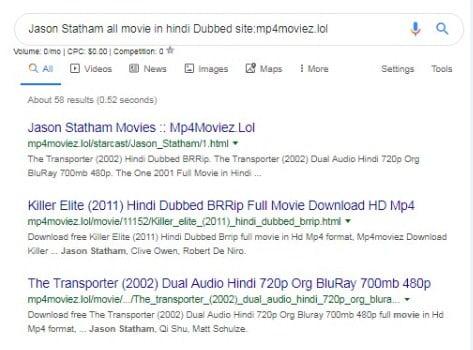 Mp4moviez | Download Hollywood Bollywood Hindi Dubbed Tamil