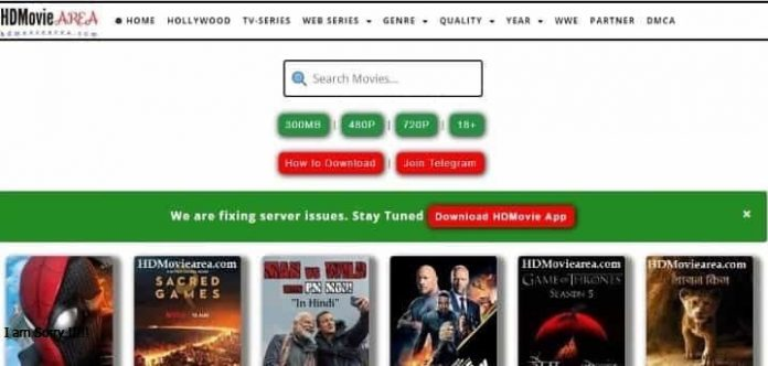 HDMOVIEAREA for download latest film now