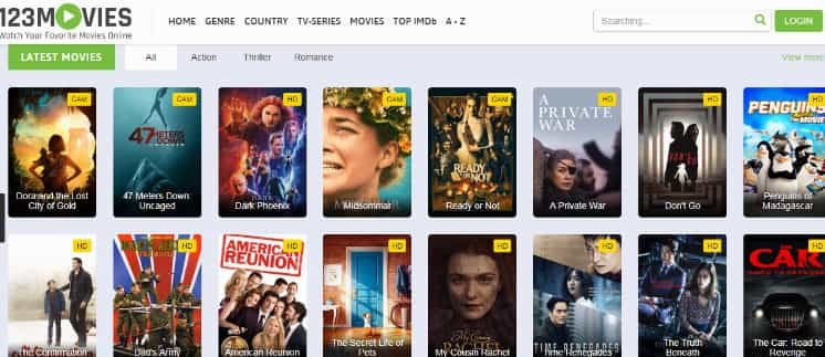 123movies site Proxy Or mirror site List