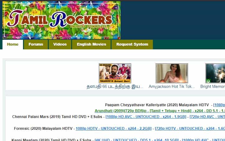 Tamilrockers Malayalam Movie download