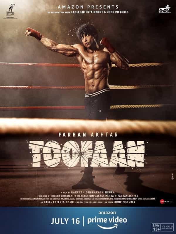 Toofan Full Movie watch online On Amazon Prime,