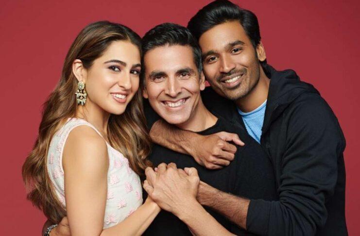 Atrangi re Movie Starring Akshay Kumar, Sara Ali Khan, Dhanush