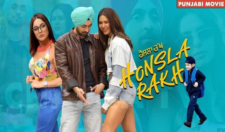Diljit Dosanjh Honsla Rakh Punjabi (2021) Movie